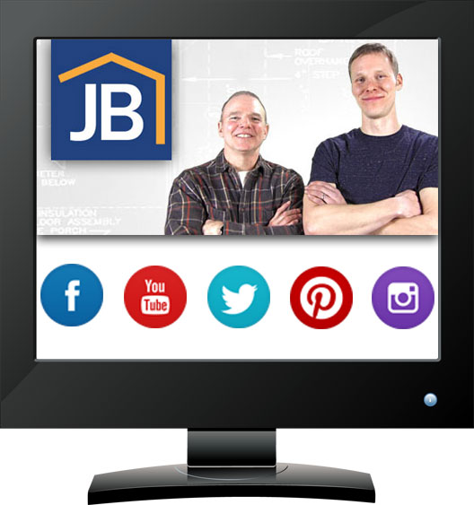 JB Home Improvers - a Virbion client
